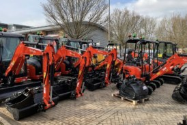 Aylesbury hire firm expands Kubota excavator offering after continuous growth