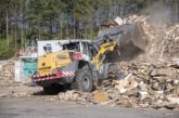 Liebherr chips in at wood processing site