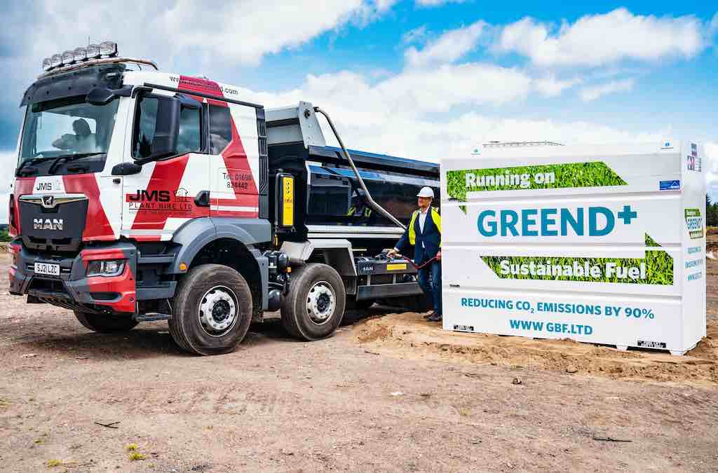 Special Report   Green Biofuels' Hydro-treated Vegetable Oil